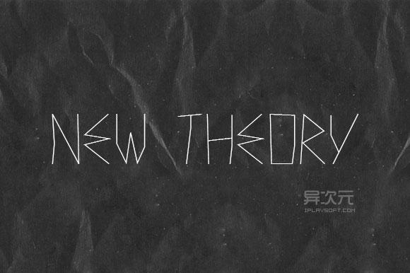 New Theory 字体