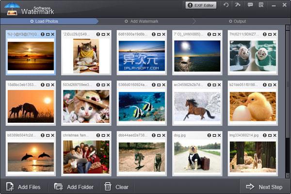 Watermark Software - 批量添加图片水印软件