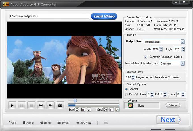 视频 Gif 转换软件