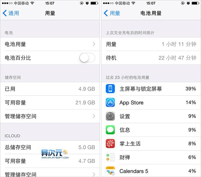 iOS8 耗电