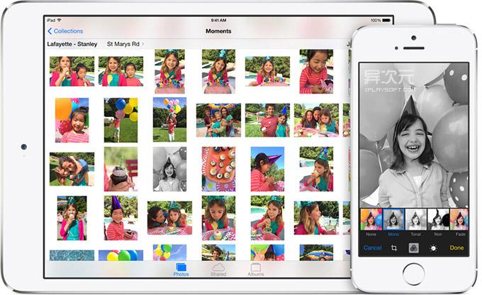 iOS 照片