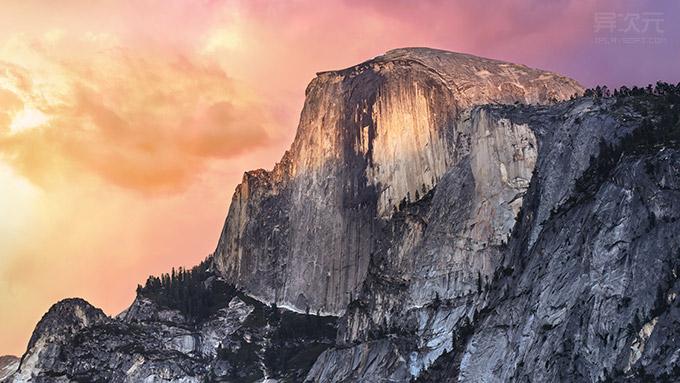 苹果 OS X Yosemite 全新高清壁纸