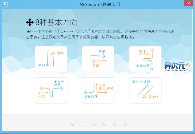 WGuestures 教程