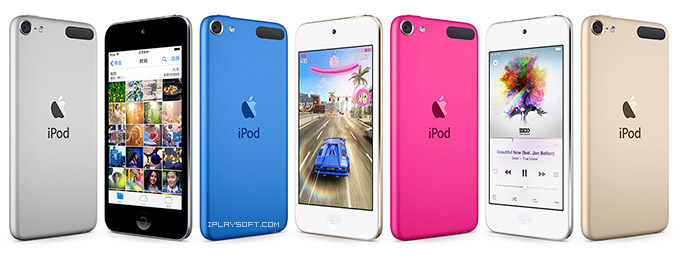 iPod Touch 颜色