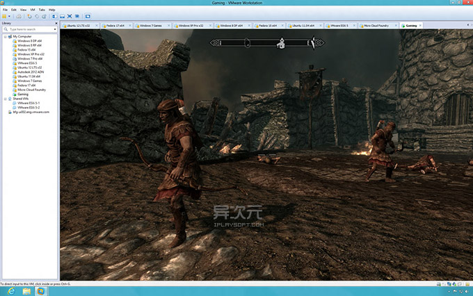 VMware 3D 游戏
