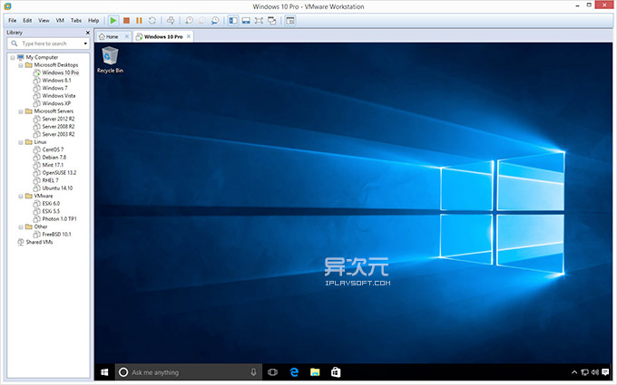 VMware Workstation Pro Windows 10