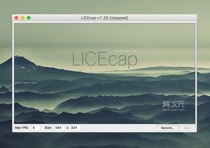 LICEcap GIF 制作软件