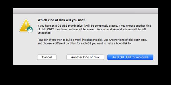 Diskmaker X 制作启动盘