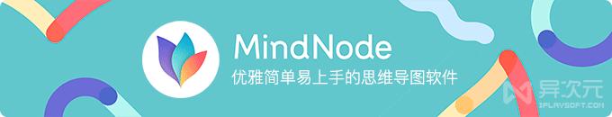 MindNode 5 中文版 - 优雅简单易上手的思维导图制作编辑软件 APP 应用