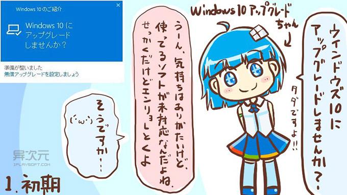 Win10 漫画