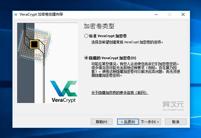 VeraCrypt 隐藏卷
