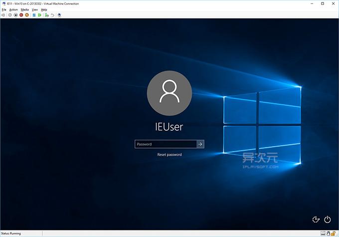 Windows 10 虚拟机