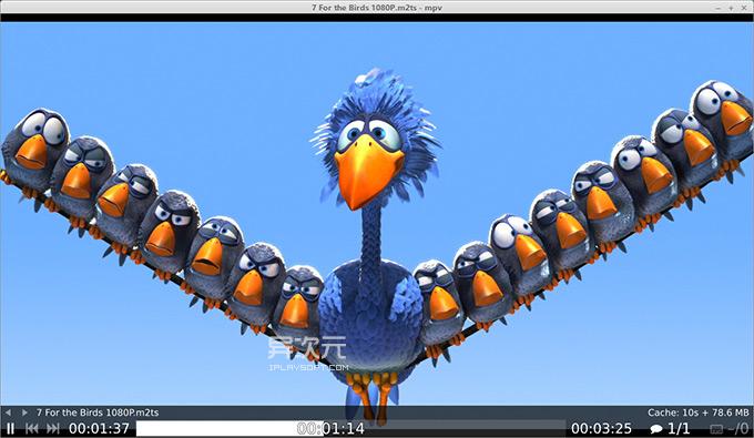 MPV Linux 播放器