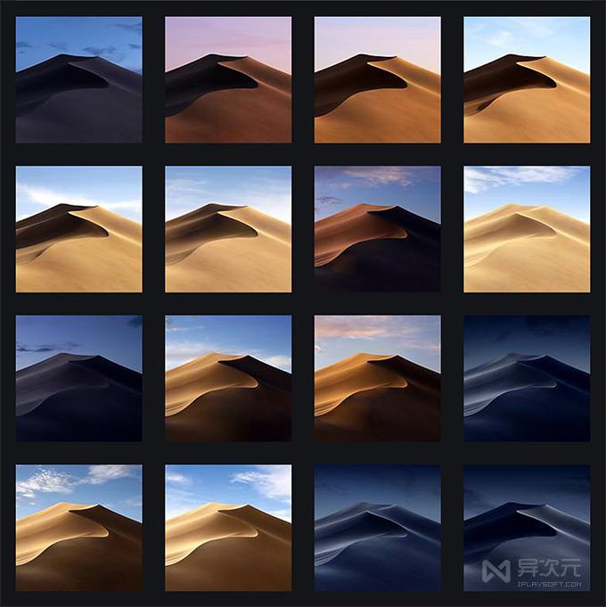 macOS Mojave 全套壁纸