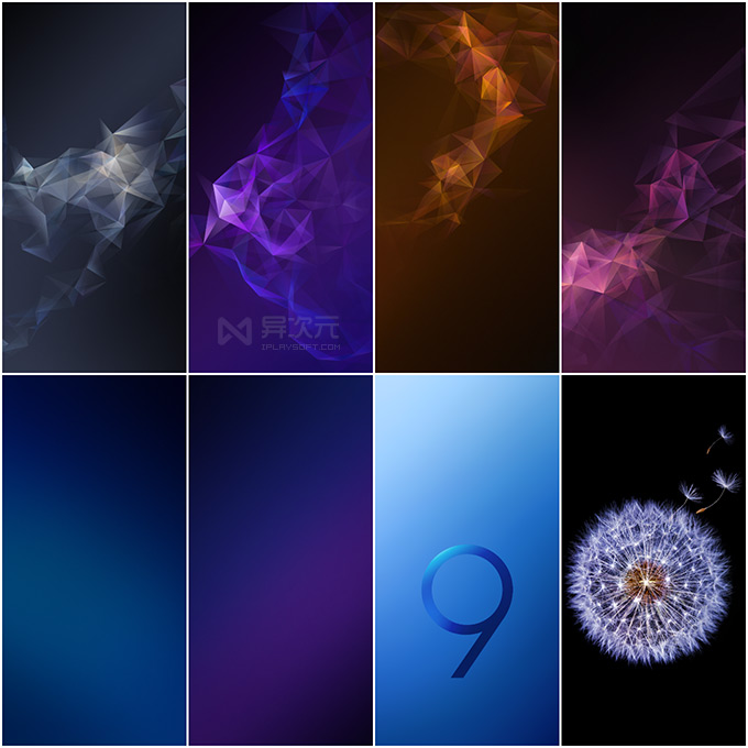 三星 Galaxy S9 手机内置壁纸