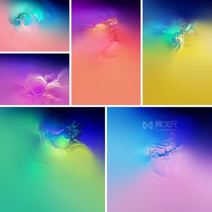 三星 Galaxy S10 全套壁纸