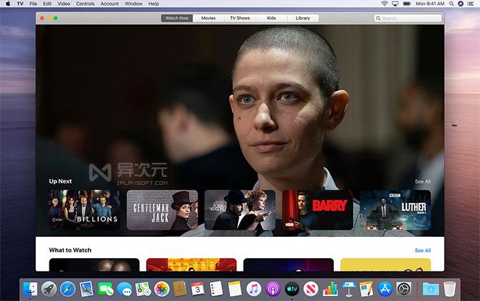 Apple TV 电影播放