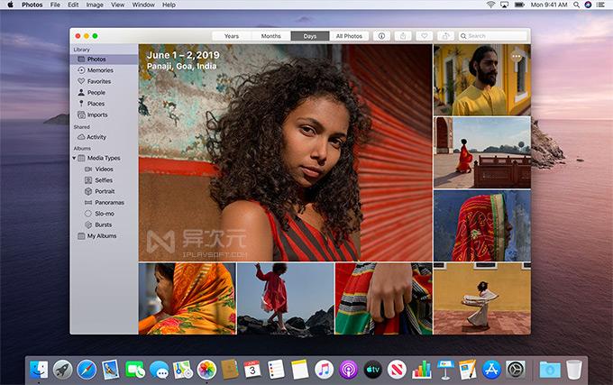 macOS 照片应用