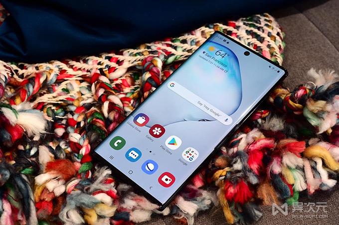 三星 Galaxy Note 10+ 手机壁纸
