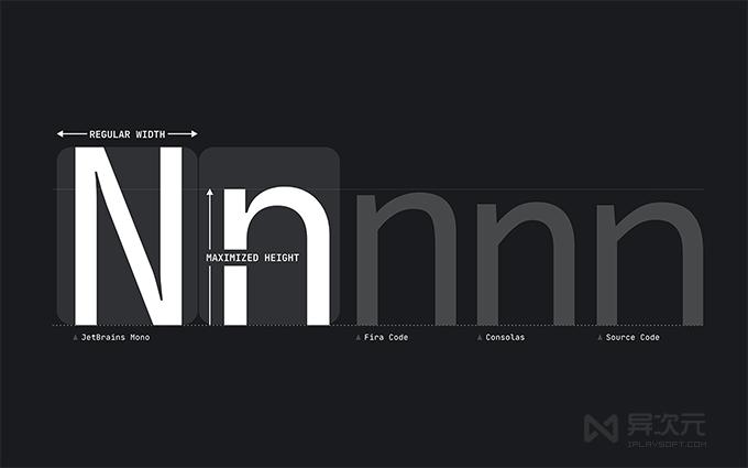 JetBrains Mono 编程字体