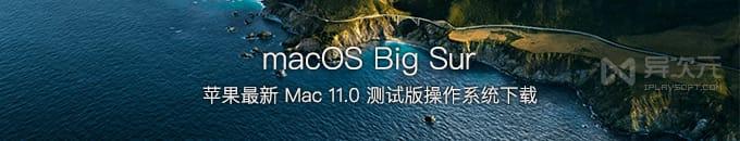 蘋果 macOS Big Sur 最新開發者預覽版下載 / Mac 11.0 操作系統 dmg 鏡像