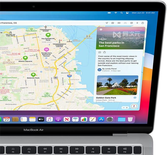 苹果地图应用