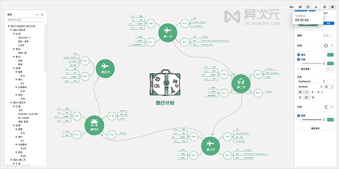 XMind 思维导图软件